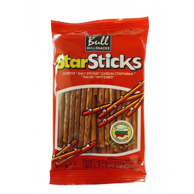 Star Sticks with malt